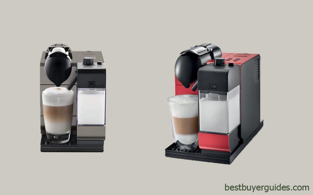DeLonghi Silver Lattissime Plus Nespresso Capsule System