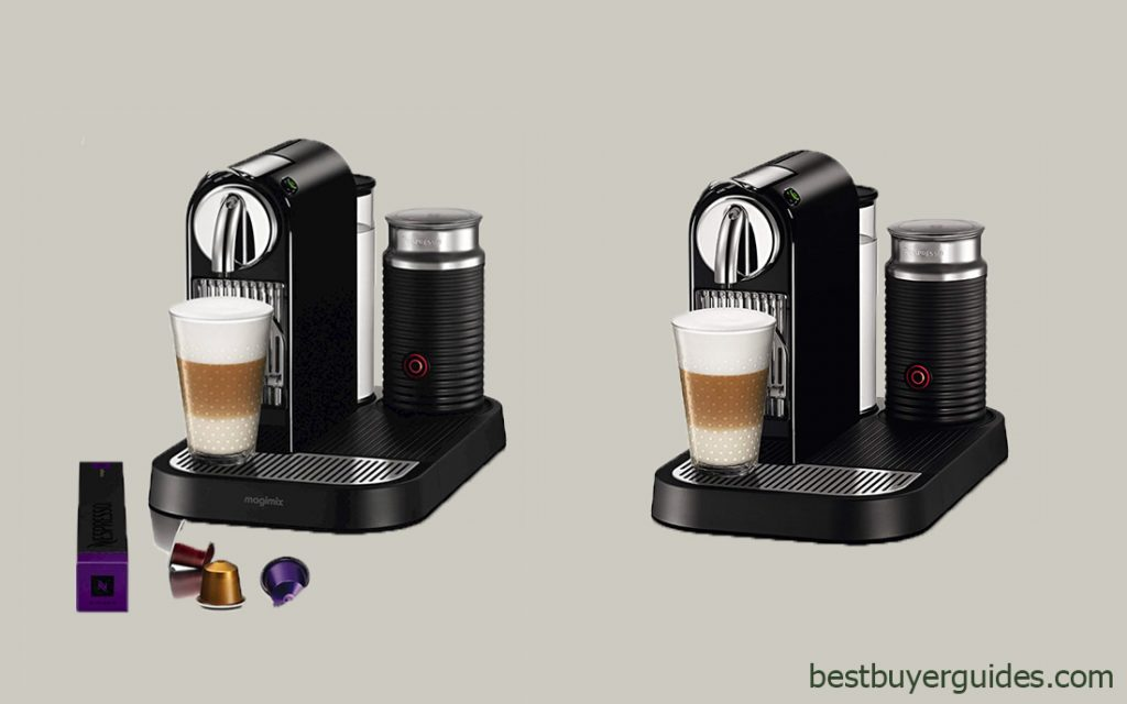 Nespresso D121-US4-BK-NE1 Espresso Maker with Aeroccino Milk Frother