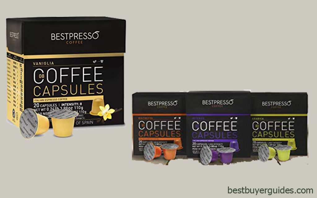 Bestpresso Coffee for Nespresso OriginalLine Machine
