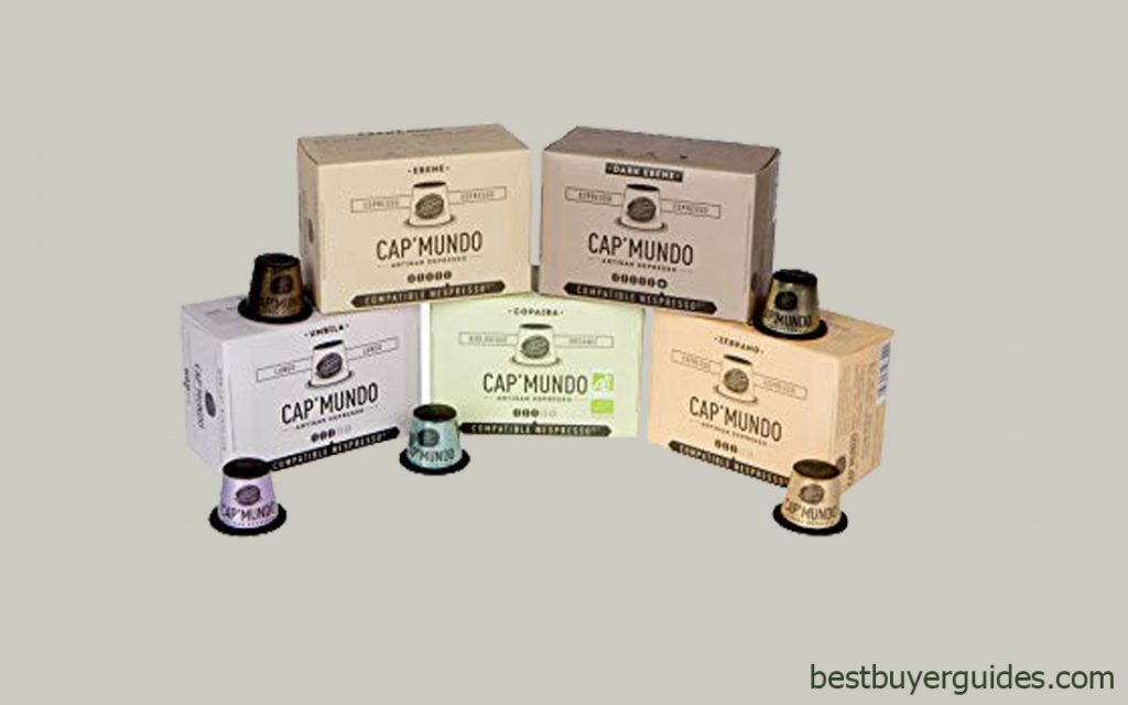 Cap'Mundo Paris Nespresso Compatible Coffee Capsules