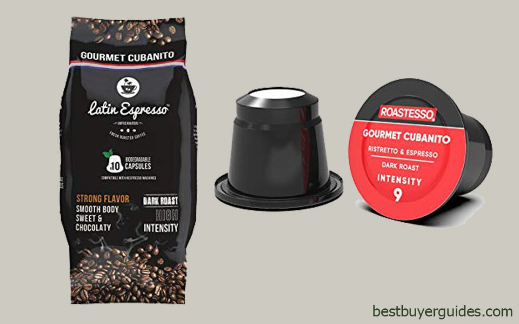 Latin Espresso- Nespresso Compatible Capsules with 100 Pods