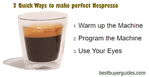 How to make Perfect Nespresso