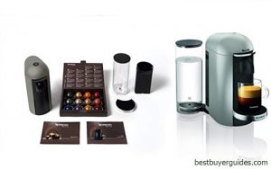 Nespresso VertuoPlus Deluxe Coffee and Espresso Machine