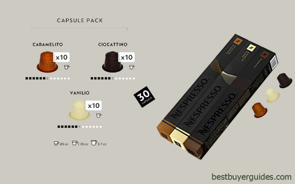Nespresso OriginalLine Espresso 30 Capsules