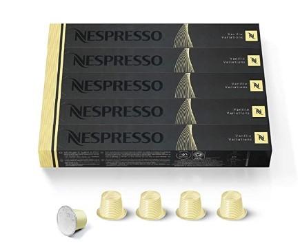 Nespresso OriginalLine, Vanilio, Roast Coffee