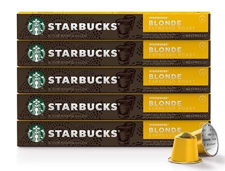 Nespresso Starbucks Blonde Roast Espresso